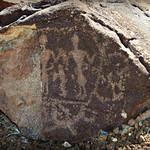 Petroglyph of People