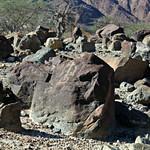 Petroglyph in Al-Hayl Castle Graveyard